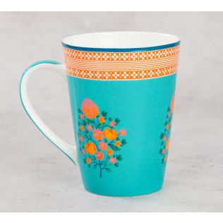 India Circus Rose Creeper Coffee Mug