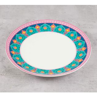 India Circus Rose Creeper Dinner Plate