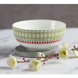 India Circus Rose Mallow Moscheutos Katori Bowl