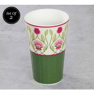 India Circus Rose Mallow Moscheutos Tall Tumbler