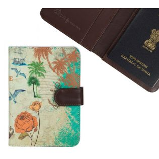 India Circus Rovers of Moana Passport Cover