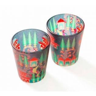 India Circus Royal Neighbourhood Shot Glasses Set of 2