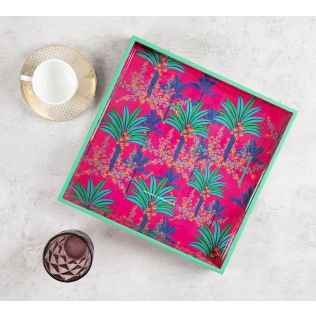 India Circus Royal Palms Square Tray