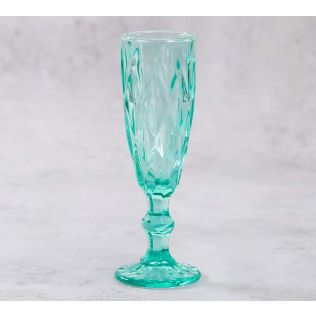 India Circus Sassy Salute Champagne Glass