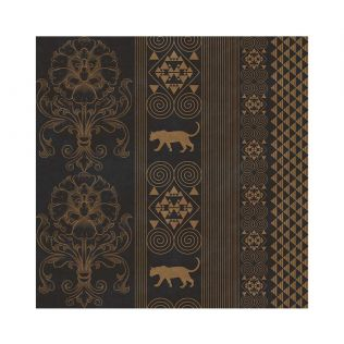 India Circus Shimmering Scriptures of the Jaguar Wallpaper