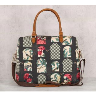 India Circus Signature Windows Office Bag