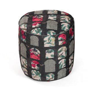 India Circus Signature Windows Pouffe