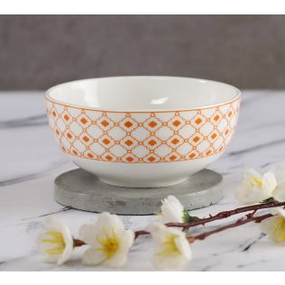 India Circus Swirling Safari Katori Bowl