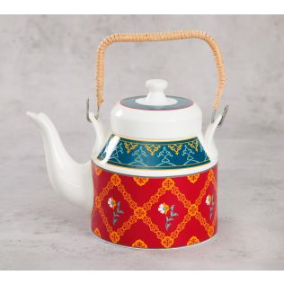 India Circus Swirling Safari Kettle