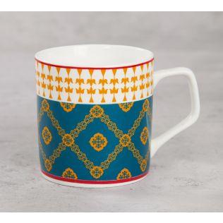 India Circus Swirling Safari Mug (Set of 6)