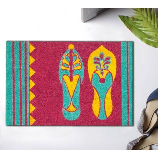 India Circus Technicolor Jootis Doormat