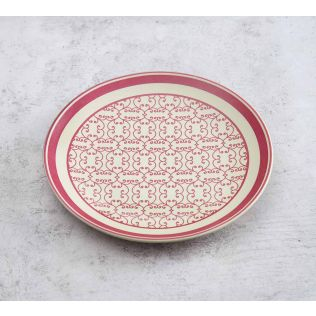 India Circus The Morning Glory Quarter Plate