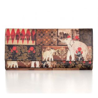 India Circus The Mughal Era Ladies Wallet