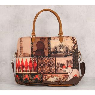 India Circus The Mughal Era Office Bag