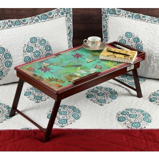 India Circus The Peacock Throne Laptop Table