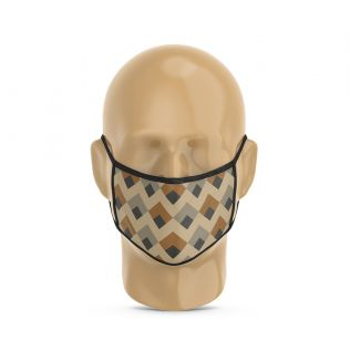 India Circus Tiled Inception Protective Face Mask