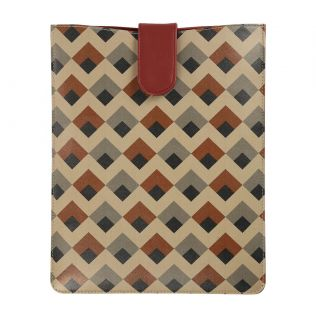India Circus Tiled Penduncle iPad Sleeve