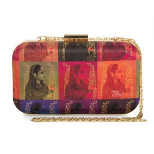 India Circus Tinted Queen Clutch