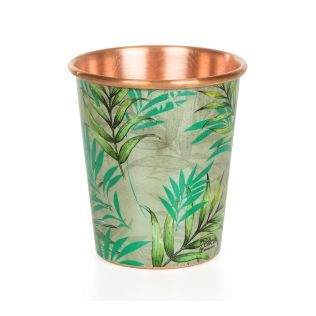 India Circus Tropical Fall Small Copper Tumbler