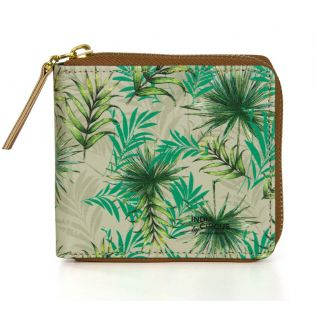 India Circus Tropical Fall Zipper Wallet