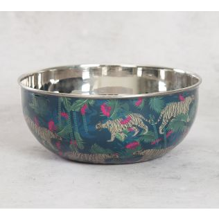 India Circus Tropical Tiger Serving Bowl