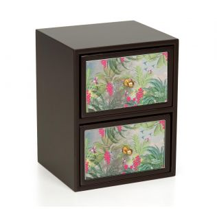 India Circus Tropical View Chest of Drawer