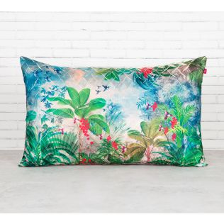 India Circus Tropical View Decorative Scale Cushion Cover