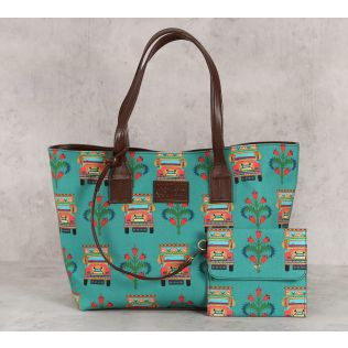 India Circus Truckloads of Love Tote Bag