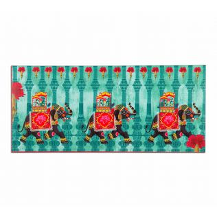 India Circus Tusker Chariot Gift Envelope Set of 6
