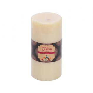 India Circus Vanilla Bean Pillar Candle