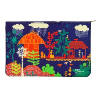 India Circus Village Reverie Makeup Pouch