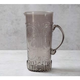 India Circus Vintage Glass Jug