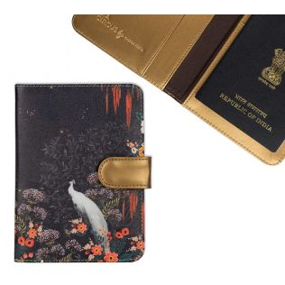 India Circus Vintage Spring Passport Cover