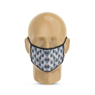 India Circus Wave Montage Protective Face Mask