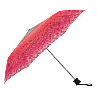 India Circus Waves of Chevron 3 Fold Umbrella