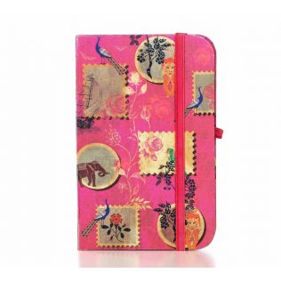 India Circus Wildlife Stamps Pocket Diary