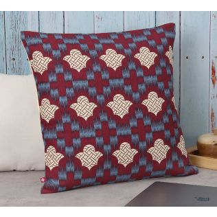India Circus Wine Organised Ovule Cotton Cushion Cover
