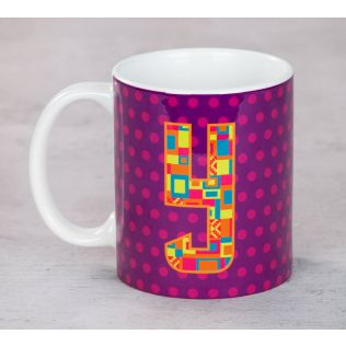 India Circus Youthful Alphabet Y Mug