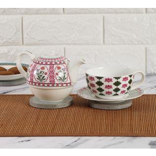 India Circus verdure mystery Tea for One