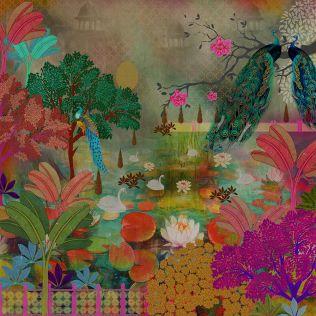 Lake of Wisdom Scenic Wallpaper