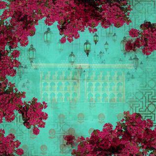 Bougainville Spectabilis Green Wallpaper