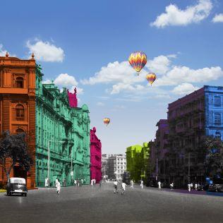 City of Flux - Vibrant Wallpaper