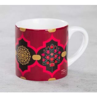 India Circus Latticed Synergy Expresso Mug