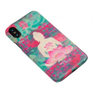 India Circus Lotus Seated Meditating Buddha iPhone X Cover