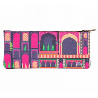 India Circus Mughal Corridor Small Makeup Pouch