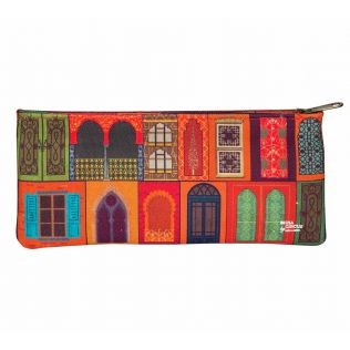 India Circus Mughal Doors Reiteration Small Makeup Pouch