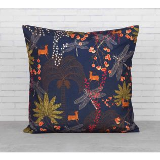 India Circus Palmeria Bloomer Cushion Cover