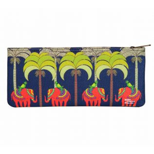 India Circus Palmeria Tusker Reiteration Small Makeup Pouch