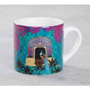 India Circus Phasianidae Monastery Espresso Mug