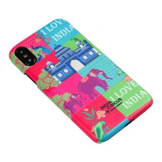India Circus Pop Patriot iPhone X Cover